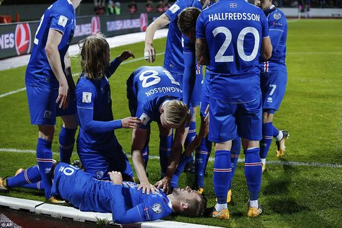 The £45million playmaker put Iceland in front on 40 minutes to help them on their way to World Cup qualification