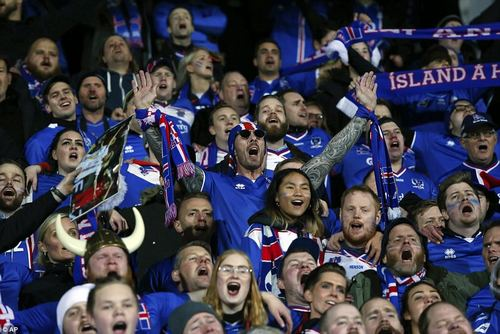 After making a big impression at Euro 2016, the Icelandic fans will look to do the same in Russia next year
