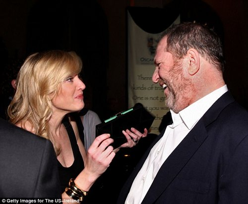 Rumblings:Winslet (above in 2009 with Weinstein) chimed in Monday evening admitting that she had been aware of the rumors throughout the years but did not believe them