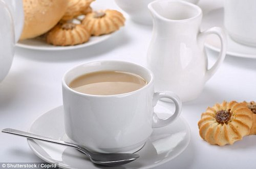 Milky coffees and biscuits are both items that Susie said we shouldn't be consuming every day and should leave as a treat