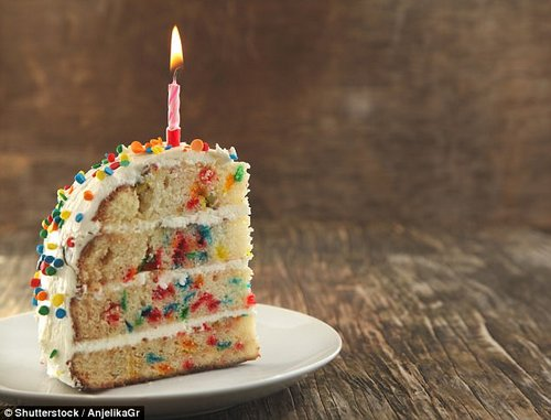 Susie shared that an average slice of cake can contain 10-12g of fat and 300-400 calories