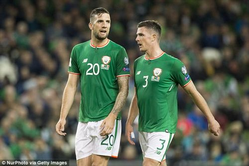 The emergence of a Shane Duffy (left) and Ciaran Clark partnership was one of the high points