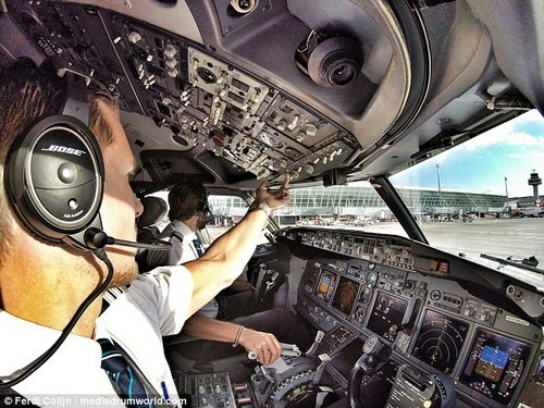 Busy: With a full-time job as a Boeing 737 first officer airline pilot, Ferdi's followers are shocked to know that he works out four to six times a week