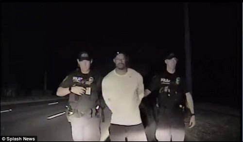 During the arrest, Woods was asked to carry out a number of sobriety tests, including walking in a straight line, touching his nose, standing on one leg and reciting the alphabet