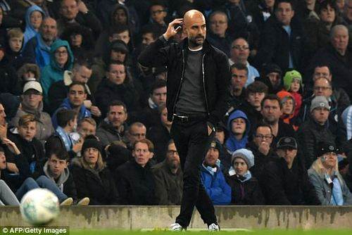 The Spanish tactician did not like the weight of the ball and hit out at it after the match