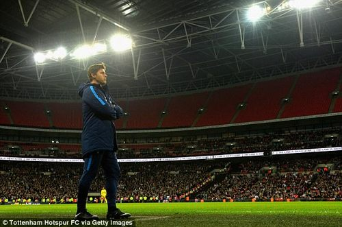 He was left visibly disappointed, though, as Spurs lost 3-2 to West Ham in the Carabao Cup