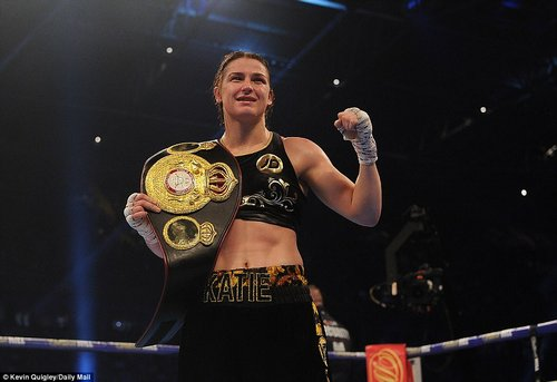 Katie Taylor also confirmed herself as the champion of the worldafter defeating Argentina's Anahi Esther Sanchez in style