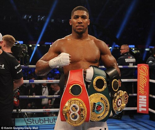 The IBF, WBA and IBO champion is now targeting some huge fights against the best in 2018