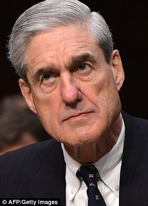 President Trump's ally New Jersey Gov. Chris Christie did the Sunday show rounds today and said the president wasn't under investigation by Special Counsel Robert Mueller (pictured), but when Rep. Adam Schiff was asked about it, he wouldn't say