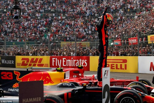 Although all the attention was on Hamilton, Max Verstappen dominated the Mexican Grand Prix to claim his third career win