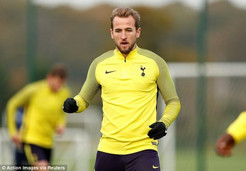 Kane has been unavailable for Tottenham's past two matches with a hamstring problem