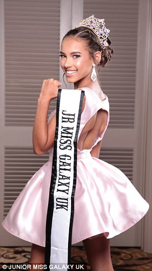 Aged just 13, Sienna Demontis has already competed in international pageants and modelled for Disney