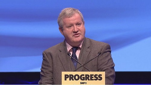 The SNP's Westminster leader Ian Blackford said independence remained the only way to escape 'right wing Tory policies'