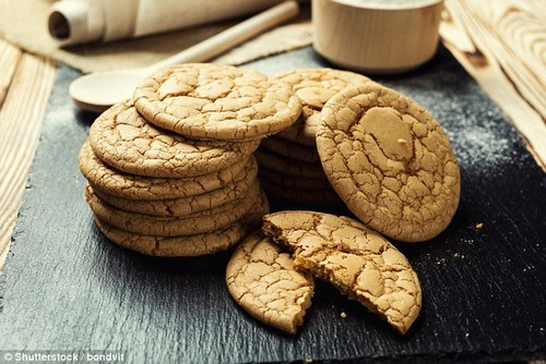 Susie said that one innocent looking biscuit can contain up to 100 calories and 3-4 grams of fat a piece