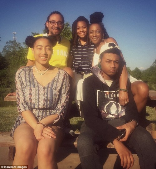 Family life: With relationship dynamics evolving, Carl and Kenya use their own experiences to help others wanting to dip their toes in the polyamory pool, which they freely admit is not easy