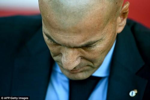 Zinedine Zidane is under increasing scrutiny after his Madrid side's poor start to the season