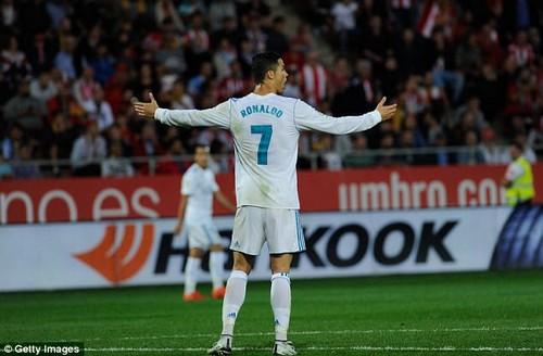 Ronaldo has only managed one La Liga goal this season despite having 40 shots