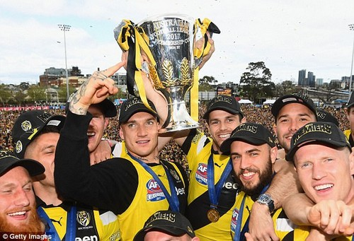 Richmond smashed Adelaide by 48 points in the AFL Grand Final to claim their first premiership in nearly four decades