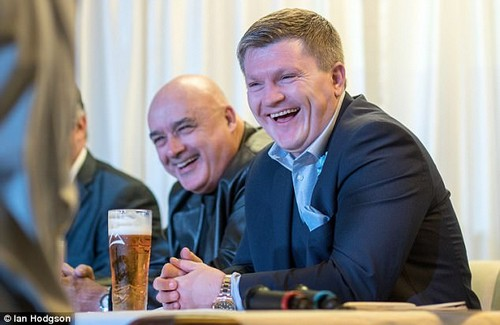 Hatton was in Dublin to celebrate his birthday and watch his fellow boxers in the ring