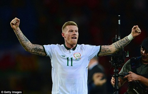 James McClean's goal took the Republic of Ireland into the World Cup play-offs