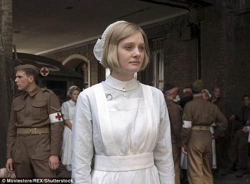 The Atonement actress told the Guardian about an 'audition' she was taken to at Weinstein's London hotel room where the then 18-year-old had to be 'personally approved' by him. She is pictured in Atonement, which came out in 2007