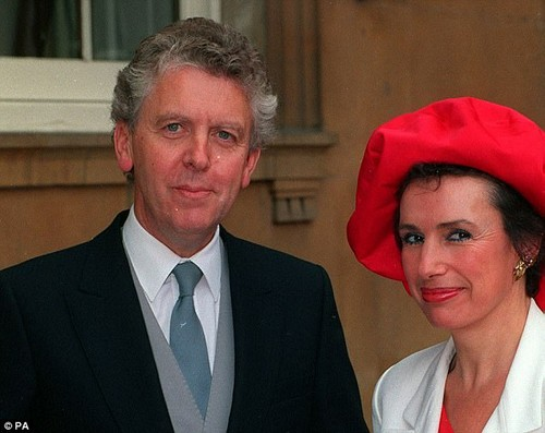 In the letter ¿ from June 13, 1987 and marked ¿strictly personal¿ ¿ Lord Powell and his wife Carla (pictured together) congratulated the prime minister on her ¿remarkable election victory¿