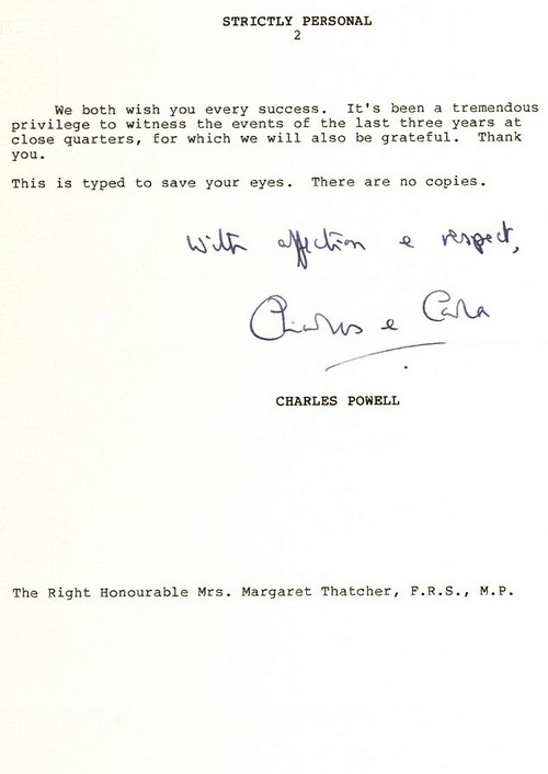 In a heartfelt letter, Mr Powell said the ¿unbelievable¿ level of abuse she had endured had taken its toll