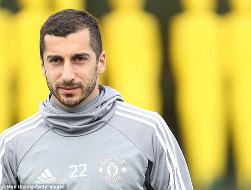 Henrikh Mkhitaryan is among the players who will be wanting to put last week behind them