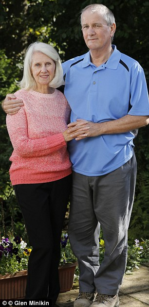 Doubts: John, pictured with wife Eileen, is wary of the Government initiative