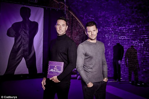 New venture: Speaking exclusively to MailOnline at the launch of his new campaign with Cadbury's Milk Tray, the TV host gushed over his long-term love's sensational Women's Health cover and how he helps her feel beautiful everyday