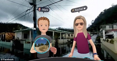Mark Zuckerberg has live streamed a virtual reality tour of hurricane-devastated Puerto Rico. The social networking mogul explored a number of locations using an Occulus Rift headset and Facebook's Spaces app, broadcasting the experience to his followers