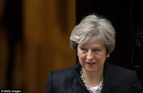 'It is also our responsibility as a Government to prepare for every eventuality, so that is exactly what we are doing,' said Mrs May