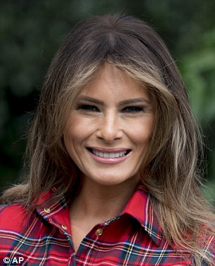 Melania Trump, 47, is becoming more comfortable in her role as First Lady of the United States