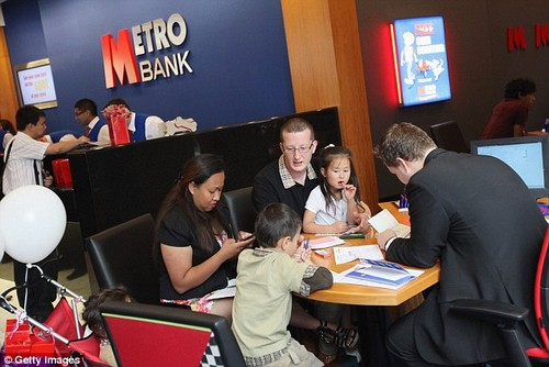 New horizons:The small lender has 50 branches, mostly in London, but is now seeking to expand