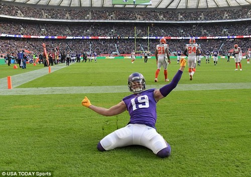 Minnesota Vikings turned on the style at Twickenham to overpower the Cleveland Browns