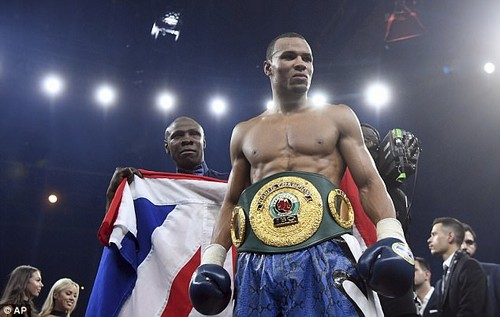 Chris Eubank Jnr won his first fight in a bid to lift the Muhammad Ali Trophy on Saturday night
