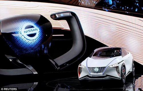 The car was revealed at the 2017 Tokyo Motor Show on Wednesday