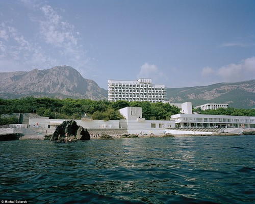 Foros sanatorium in the Crimea: Millions have attended the retreat, which borders on the shore of the Black Sea