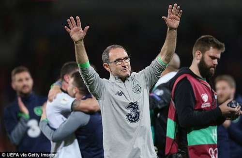 Martin O¿Neill is on the brink of joining Jack Charlton in the Republic of Ireland Hall of Fame