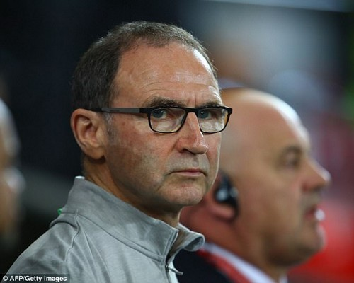 O'Neill will hope for an away tie in the first leg as the Aviva Stadium is set to host a rugby match