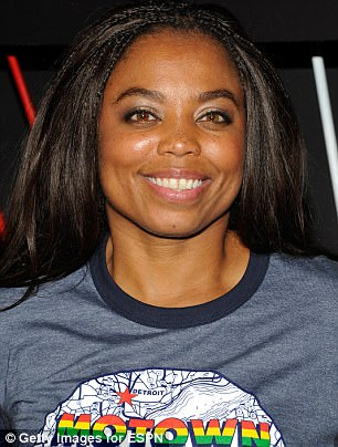 ESPN suspended Jemele Hill (above) for two weeks after suggesting Sunday that fans should consider boycotting companies that advertise with the Dallas Cowboys and the Miami Dolphins