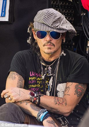 Johnny Depp described his close relationship with Gerry Conlon and how he would have 'taken a bullet' for the man in the forward to his newly released biography