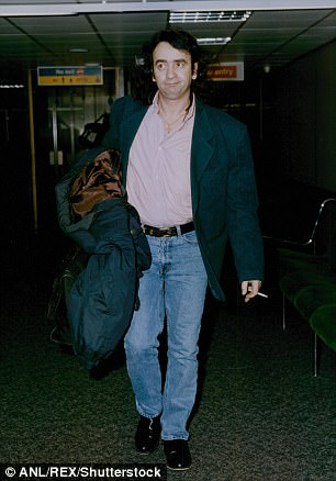 Depp wrote the forward for his late friend Gerry Conlon, pictured, who died in 2014 of lung cancer after a long and tumultuous life