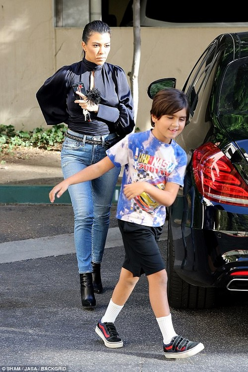Bigger by the day: It's hard to believe that Mason wasn't even born when KUWTK premiered