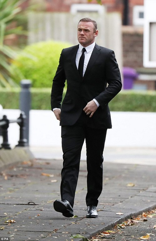Sorry: Everton striker Rooney was ordered to undertake 100 hours unpaid work after being caught drink-driving on the fateful night