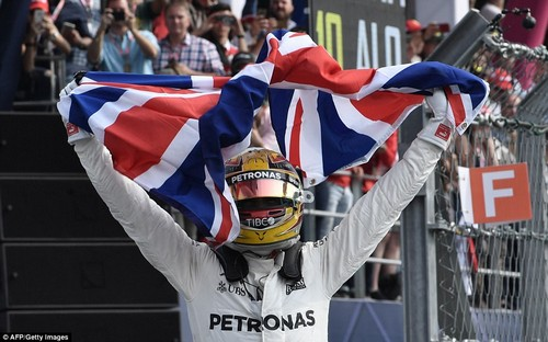 Despite finishing ninth, Lewis Hamilton claimed his fourth world championship at the Mexican Grand Prix