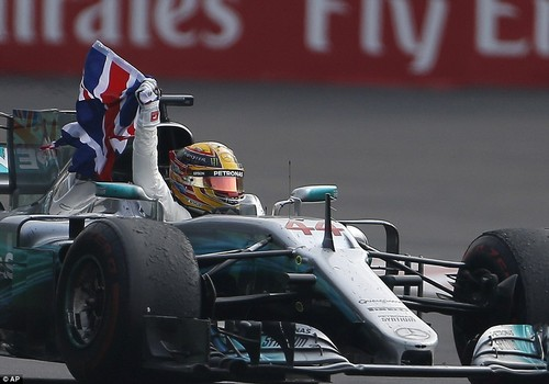 The Mercedes driver's championship victory makes him Great Britain's most successful British driver of all time