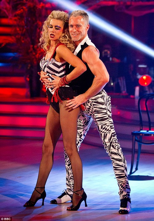 Memories: Denise admitted she thinks it happens to a 'lot of women' after Strictly, and that her 'problems in her marriage' had been there before the show (above with partner James Jordan)