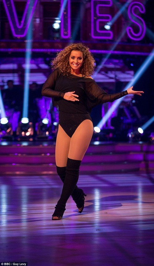 No longer self-conscious: Louise has different ideas, and has now pushed on with a pursuit to reestablish her showbusiness career (here in October, on Strictly)