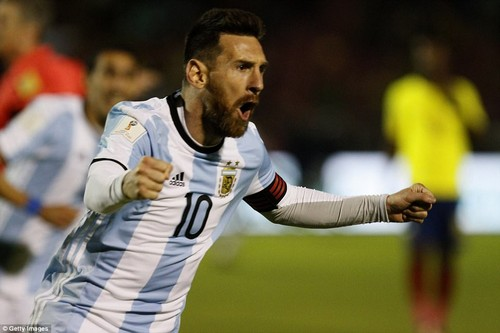 Lionel Messi netted an incredible hat-trick to help Argentina come from behind in Ecuador and qualify for the 2018 World Cup
